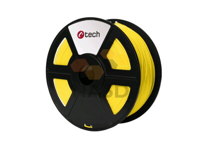 C-TECH PLA ŻÓŁTY 1,75 mm, 1 kg (C-TECH PLA ŻÓŁTY 1,75 mm 1 kg)
