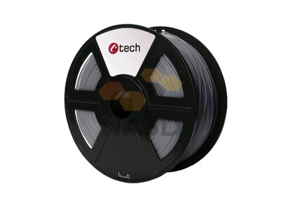 C-TECH srebra PLA 1,75 mm, 1 kg (C-TECH srebra PLA 1,75 mm 1 kg)